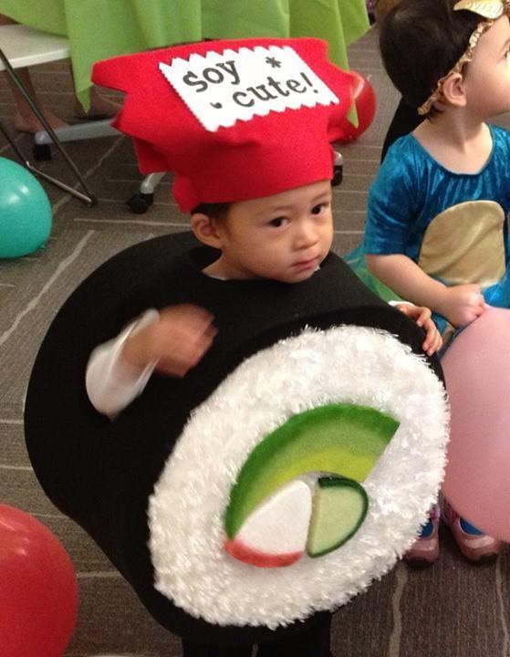 Sushi dress-up