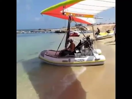 Flying boat.
