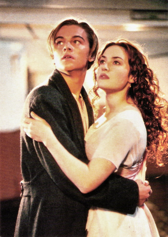 Leonardo Dicaprio And Kate Winslet Photo From Titanic 1997 9gag