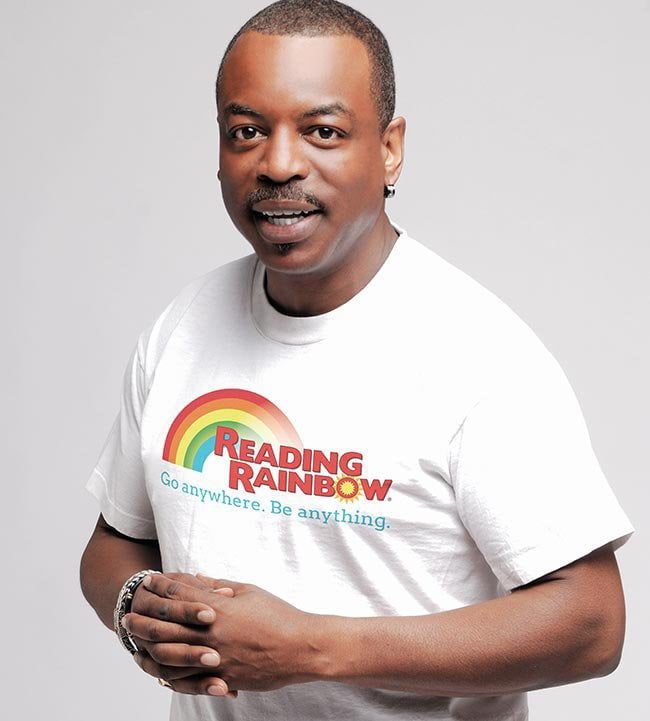 Mr Levar Burton Deserves To Be Mentioned Alongside Mr Rogers Bob Ross Steve Irwin Etc For How Many People He S Influenced And Inspired Over The Years 9gag