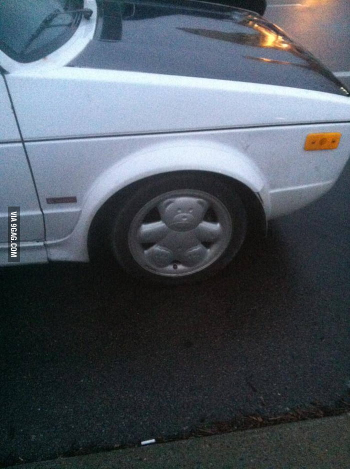 I found these rims on a old VW wagon.