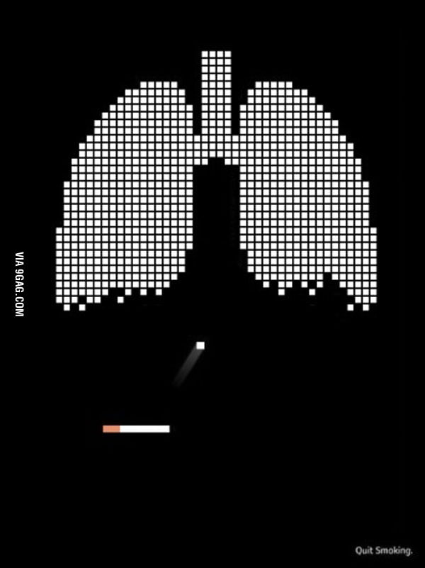 The most clever anti-smoking advertisement ever