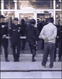 The door f**ks the police.