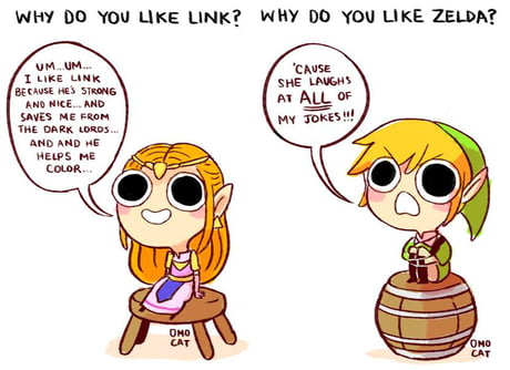 Legend Of Zelda Fanart Makes My Heart Happy 9gag