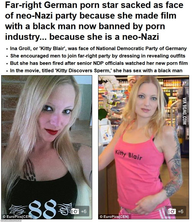 Banned German - Bad Luck Nazi Pornstar! via CrackedSorcerer dot com