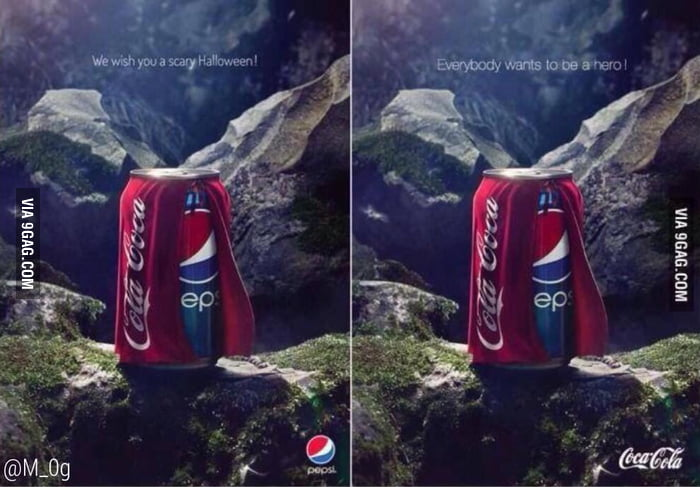 Coca Cola Vs. Pepsi ..who wins?