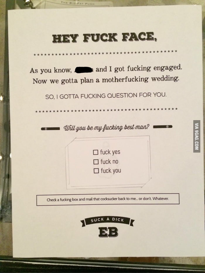 How To Ask Your Friend Be Best Man At Wedding