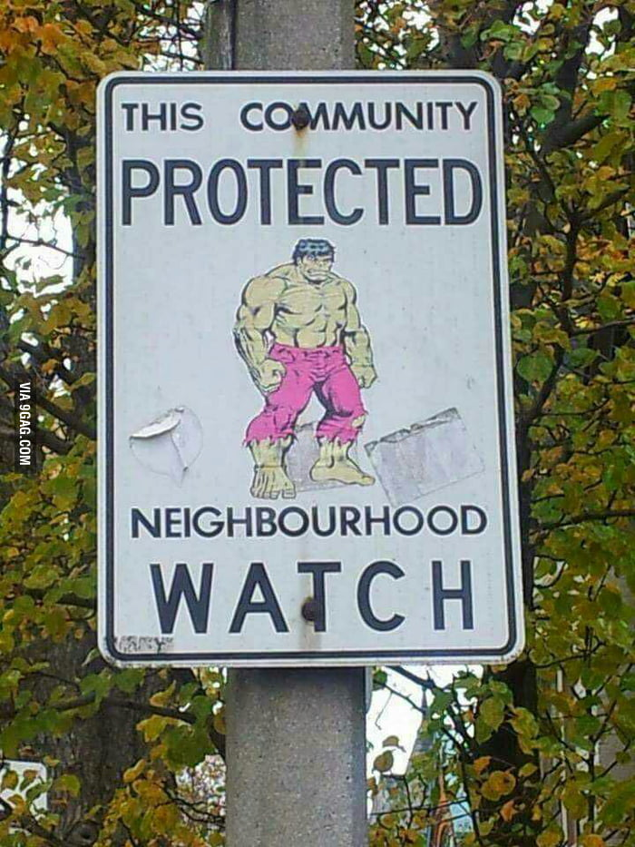 The HOA has a new neighbor hood watch  - 9GAG