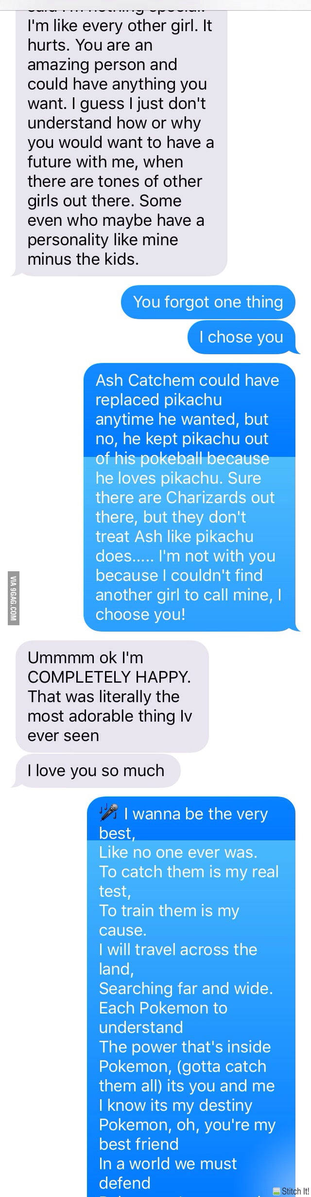 How To Cheer Up Your Girlfriend You Guys Should Know The Song 9gag