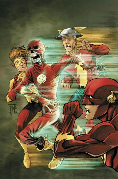 Who's your favorite flash? Jay garrick, Barry Allen, Wally west, Bart Allen