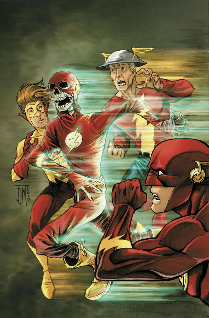 Who's your favorite flash? Jay garrick, Barry Allen, Wally