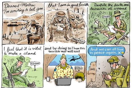 Mark Knight Never Fails to Impress