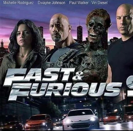 New Poster for the Fast and Furious 9