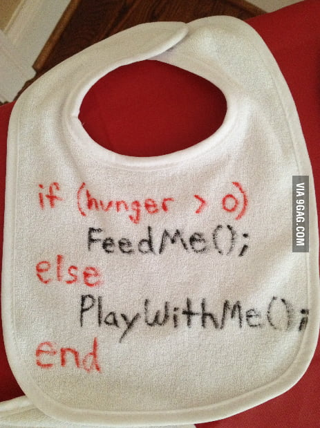 Went to an engineer's baby shower this weekend and they had a bib-decorating station. I thought this was appropriate.
