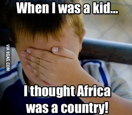 When I was a kid...