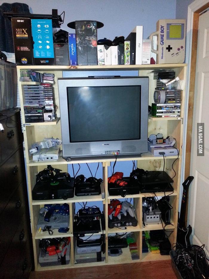 My Retro Gaming Setup 9gag