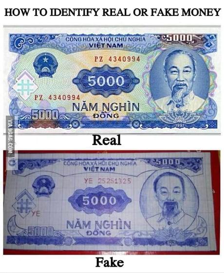 It was Vietnam currency btw    !!! - 9GAG