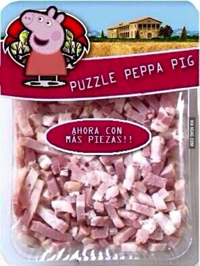 Resultado de imagen de puzzle peppa pig