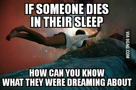 dream of someone dies
