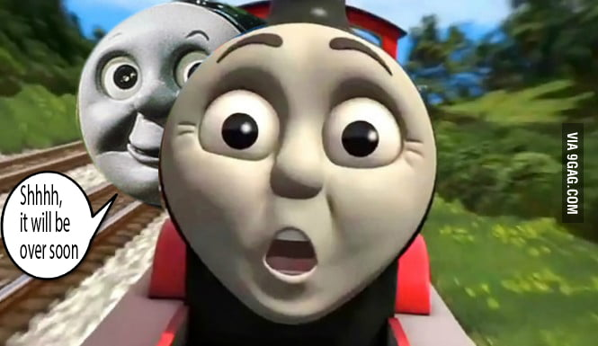 You can't stop the rape-train #Thomas the Tank Engine