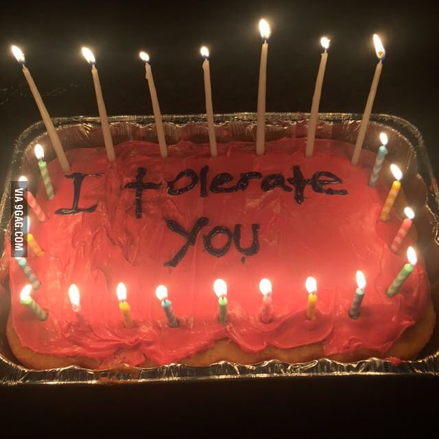 The Best Birthday Cake For Your Best Friend 9gag