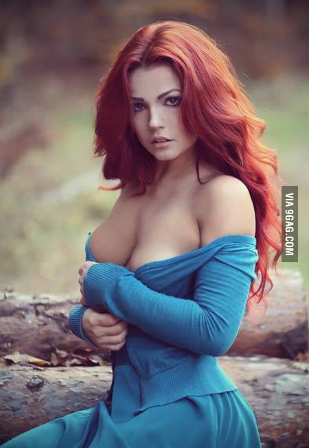 Sexy and red head