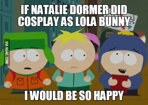 if natalie dormer did cosplay as lola bunny i would be so happy 9gag