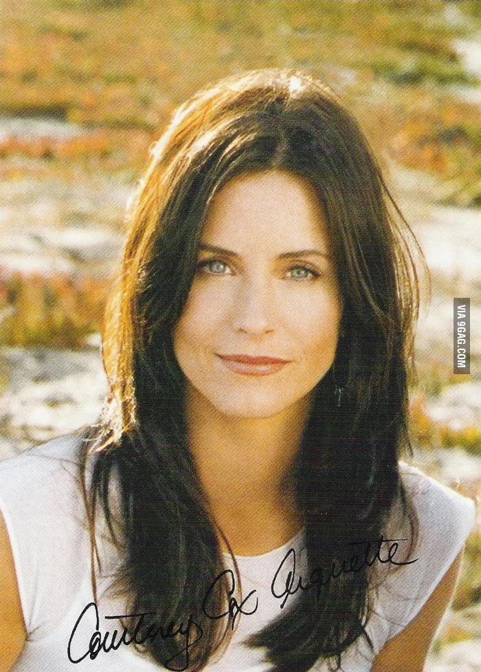 My First Celebrity Crush Monica Geller Courteney Cox Arquette
