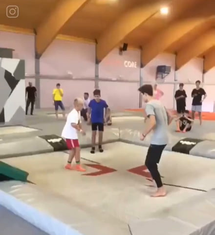 This kid is insane