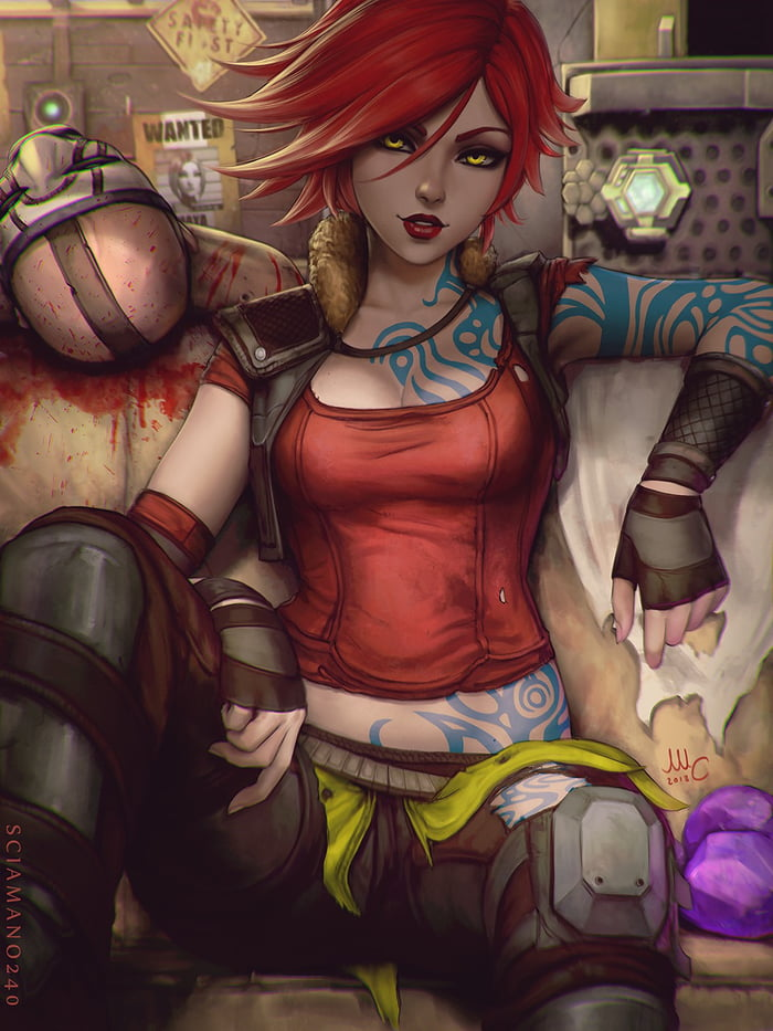 Lilith nude borderlands Lilith and