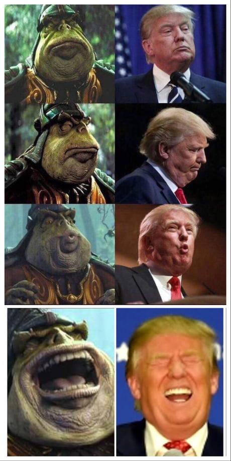Breaking Donald Trump A Gungan Impostor Illuminati