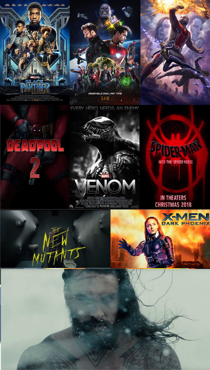All Comic Book Movies Coming Out In 2018 9gag