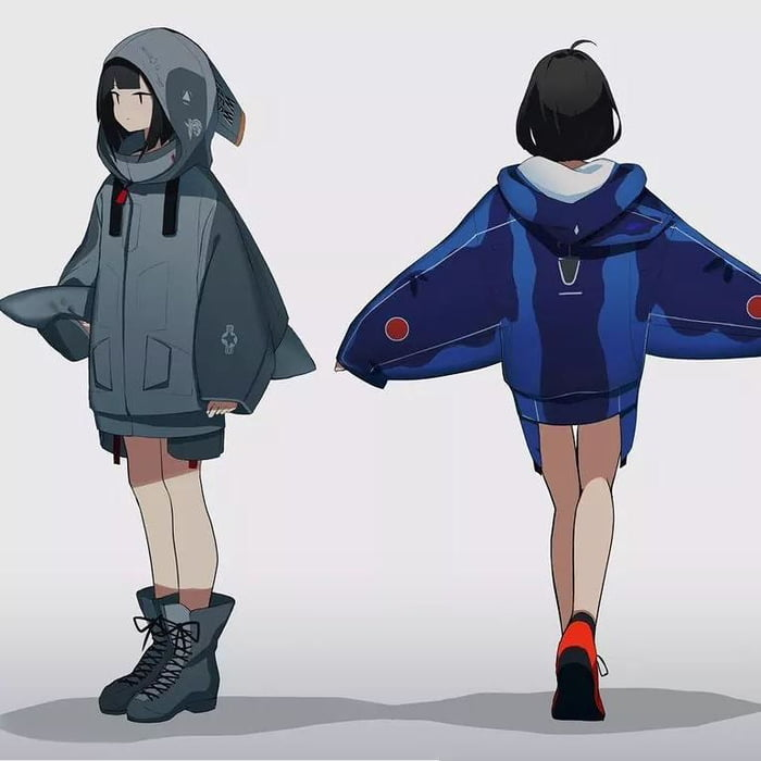 A japanese artist is making a fighter jet hoodie artwork on ...