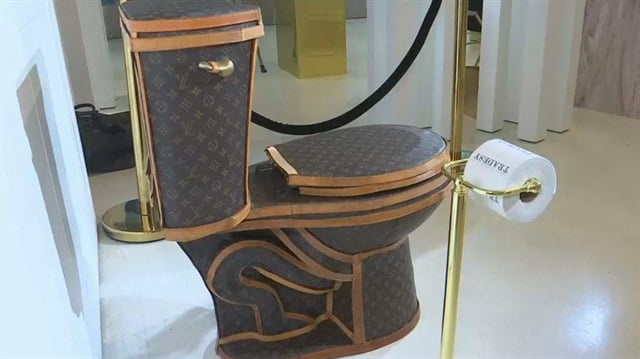 Louis Vuitton Toilet Is Now Available And It Made With