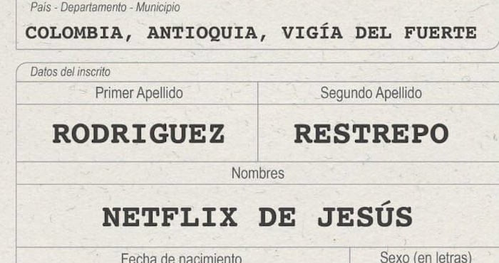 So    there is a colombian kid named Netflix of Jesus - 9GAG