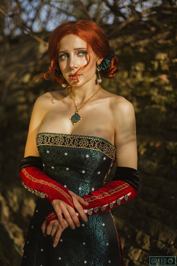 Triss nude cosplay. The Witchers Triss Merigold Comes