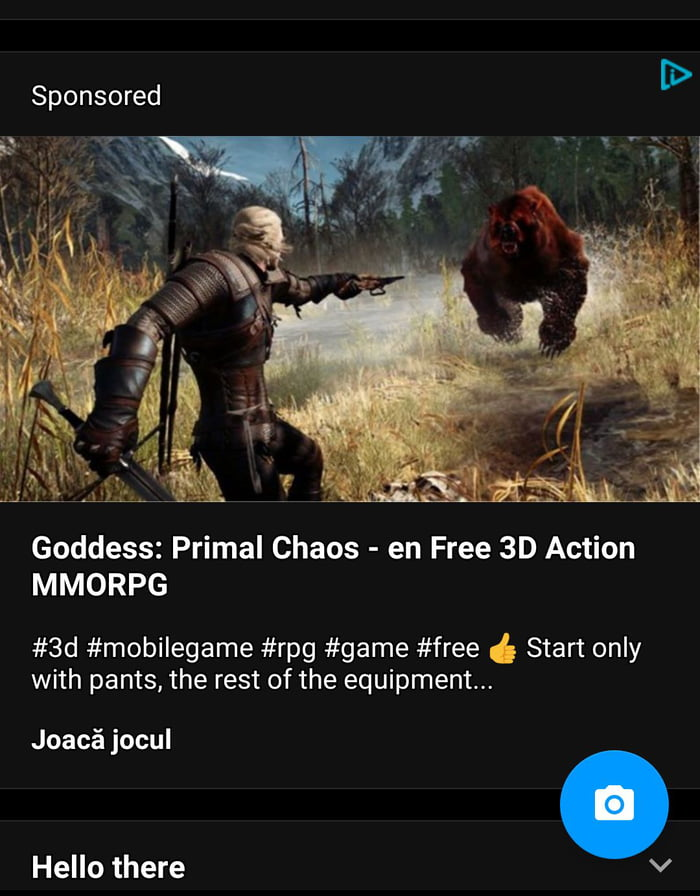 This Goddess:Primal Chaos looks pretty good for a mobile game - 9GAG