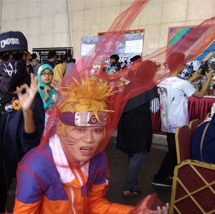 This Naruto Cosplay 9gag