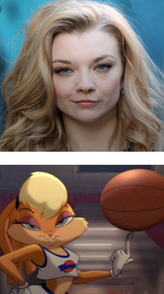 natalie dormer and lola bunny can t be unseen 9gag