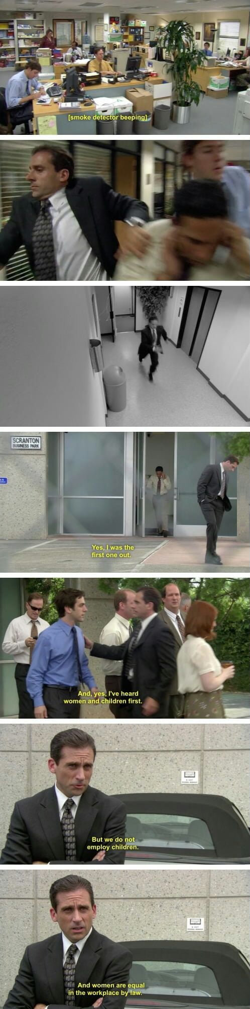 I just love the office