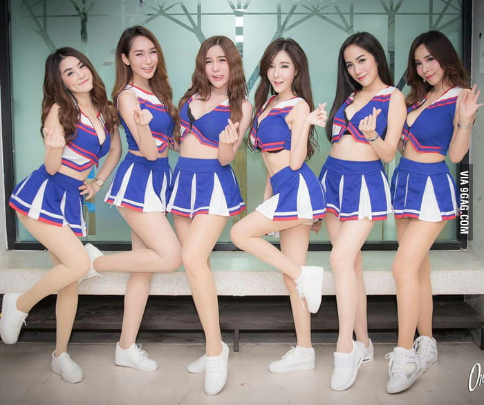Share asian girl cheerleader