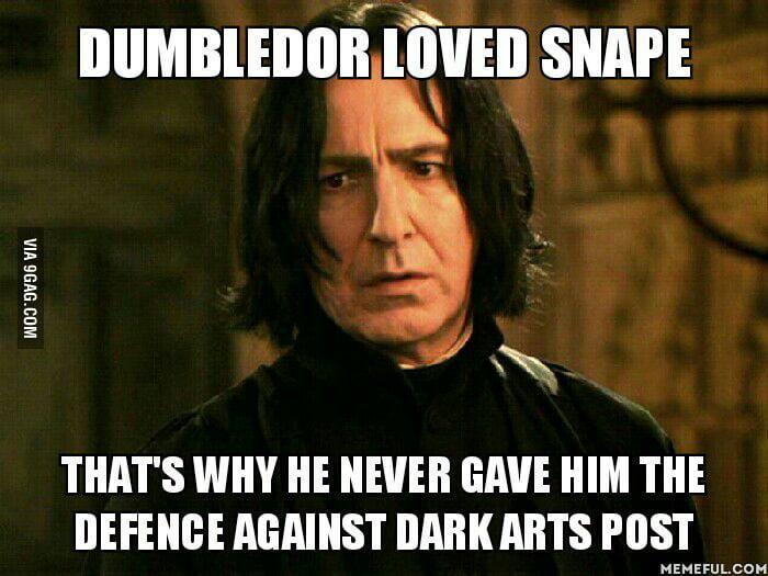 Dumbledor Knew That Voldemort Had Cursed The Defence Against Dark