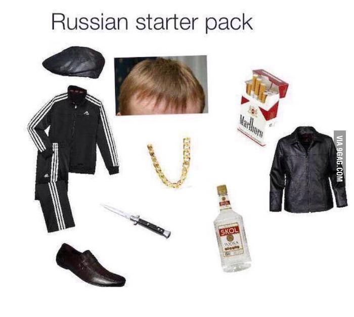 Russian Starter Pack - 9GAG