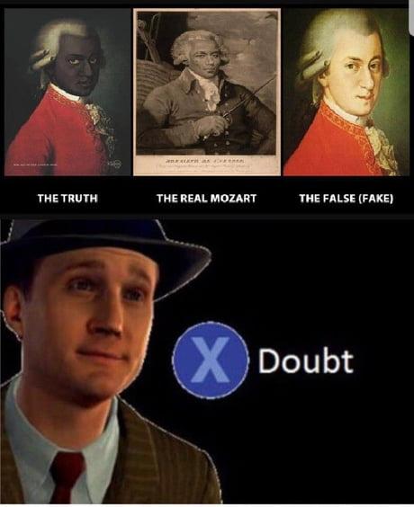 Mozart was black