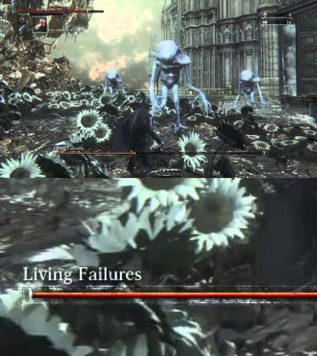 Oh look!bloodborne is referencing 9gaggers