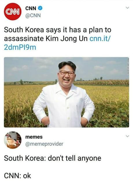 Un meme jong kim