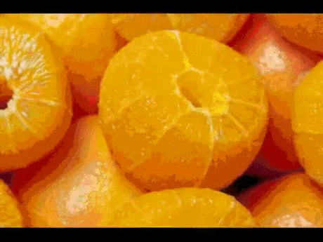 How oranges are made