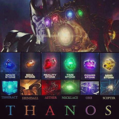 For the dude who thought that soul stone was from thor's ...