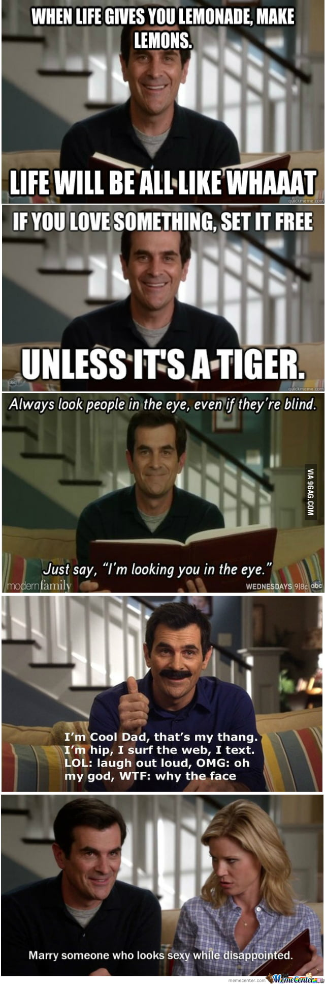 Phil Dunphy Quotes | My Favourite Phil Dunphy Quotes Phil S Osophy 9gag