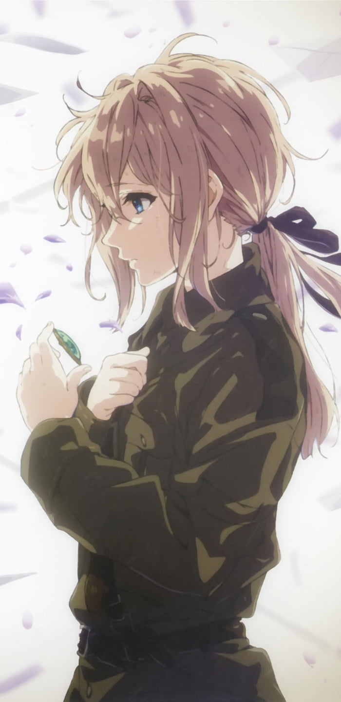 violet evergarden mobile wallpaper 9gag